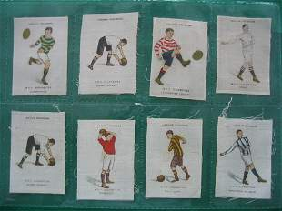 Sports Series Tobacco Silk Grouping of (8) c. 191