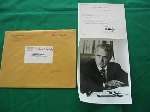Senator Thomas Eagleton Autographed Photo,