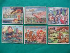 1115: Horrors of War Grouping of (6) Cards c. 1938