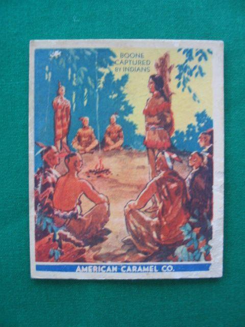 Daniel Boone Card No. 3 American Caramel Co.