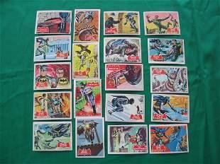 Batman Card Grouping of (19) Cards c. 1966