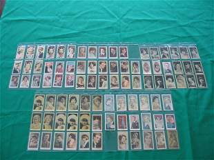 Film Stars Huge Grouping of (88) Cards c. 1930's