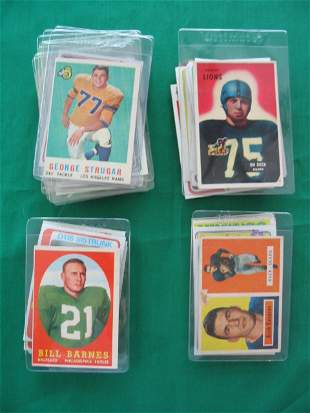 Vintage, HOF'er, Star & Rookie Football Cards