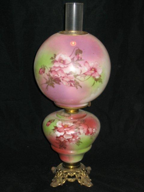 4014: Gone with the Wind Style Kerosene Lamp