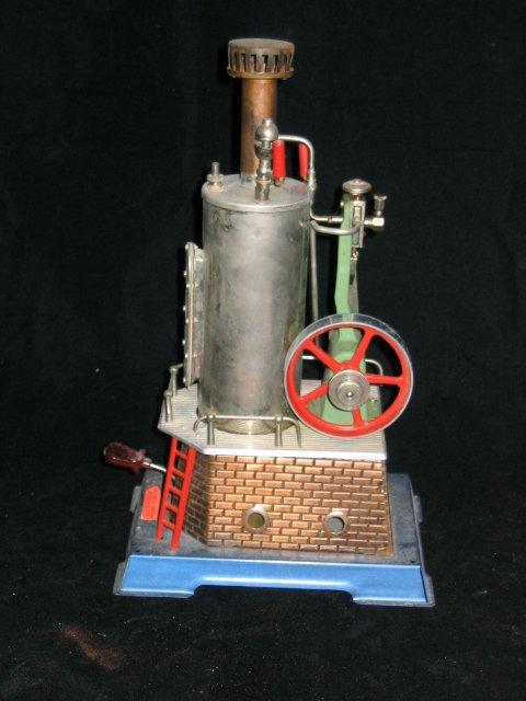 4022: Tin Model Steam Engine by Wilesco, Germany