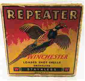 Very Rare Vintage Winchester Repeater Pheasant 10 Ga.