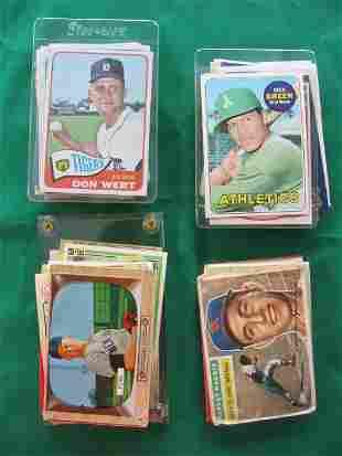 100+ Vintage HOF'er, Star, & Rookie Baseball Card