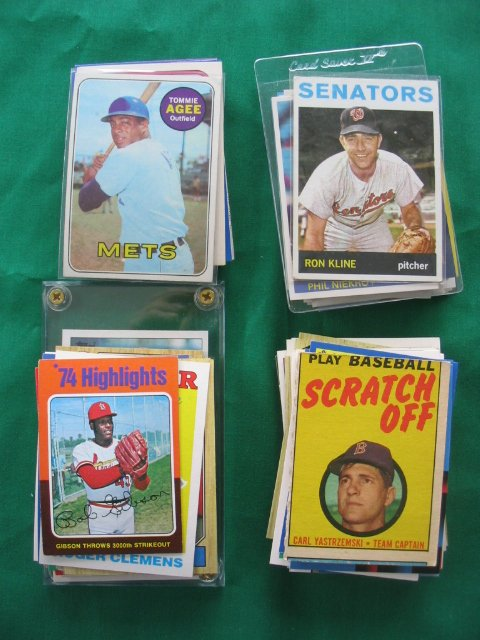 2013: 100+ Vintage HOF'er, Star, & Rookie Baseball Card