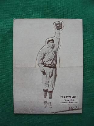 Arky Vaughn Batter Up Baseball Card