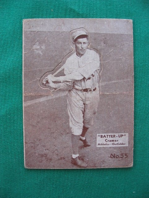 2024: Doc Cramer  1934-36 Batter Up Baseball Card