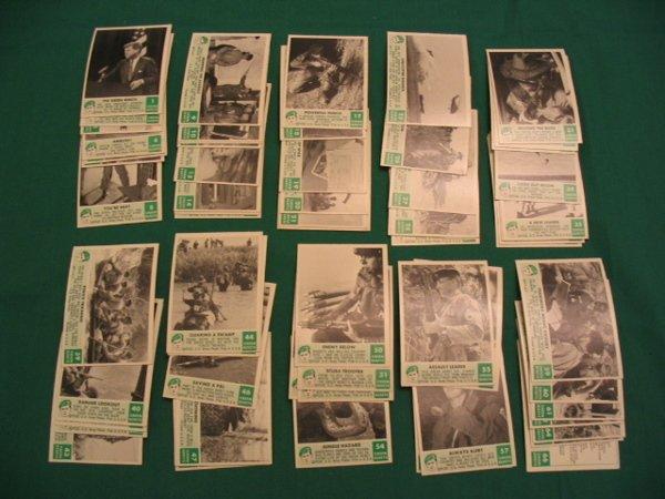 1: Green Berets 1966 Philadelphia Gum Set of (66) Cards