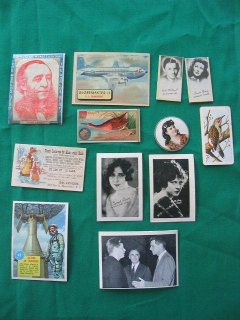 2: Tobacco Card / Non-Sport Grouping of More than (10)