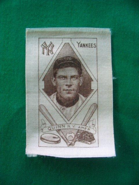 6: Jack Quinn New York Yankees S74 Tobacco Silk c.1911