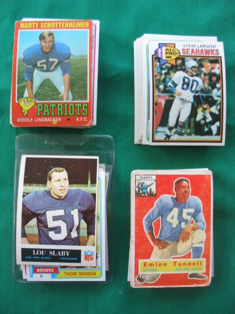 """8: Football Lot of More Than """"60"""" Cards"""