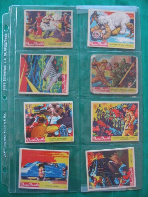 16: Dare Devils 1933 National Chicle Complete Set
