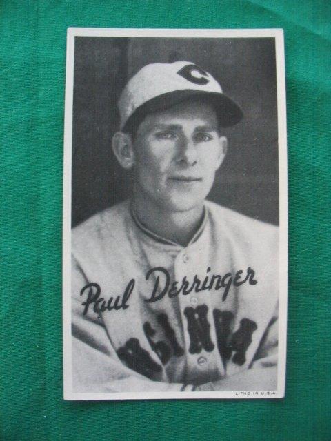 17: Paul Derringer Cincinnati Reds 1930's Goudey Card