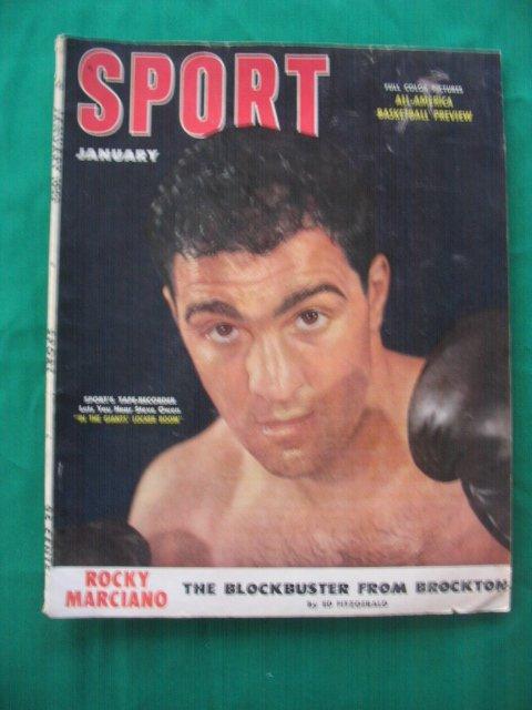 18: Rocky Marciano Boxer January 1953 Sport Magazine