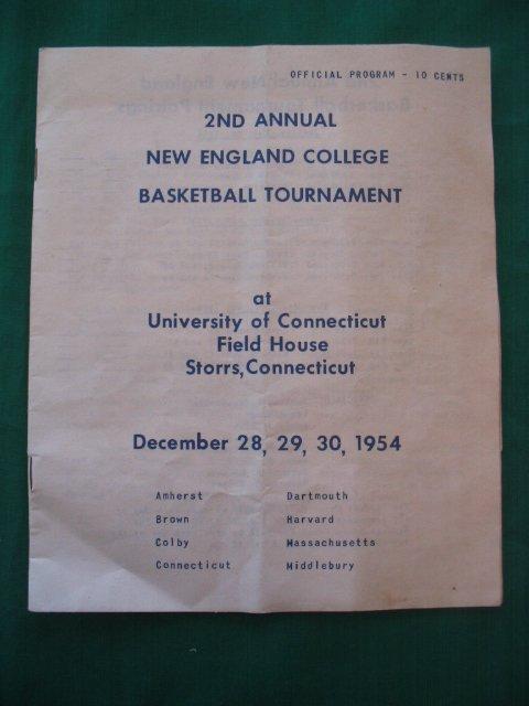 24: 2nd Annual New England College Basketball Tournamen