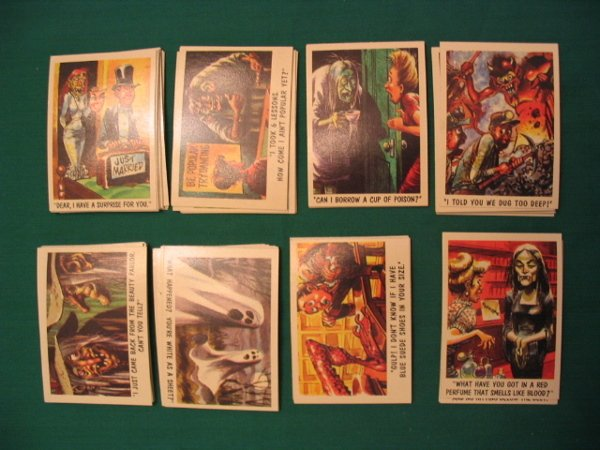 101: You'll Die Laughing 1959 Topps Complete Set