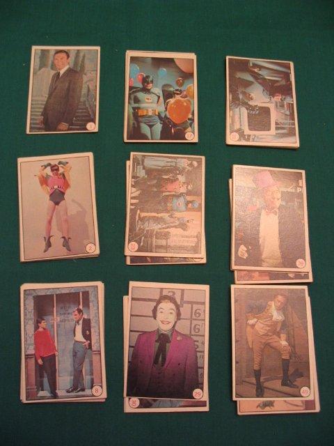 212: Bat Laffs 1966 Topps Complete Set of (55) Cards