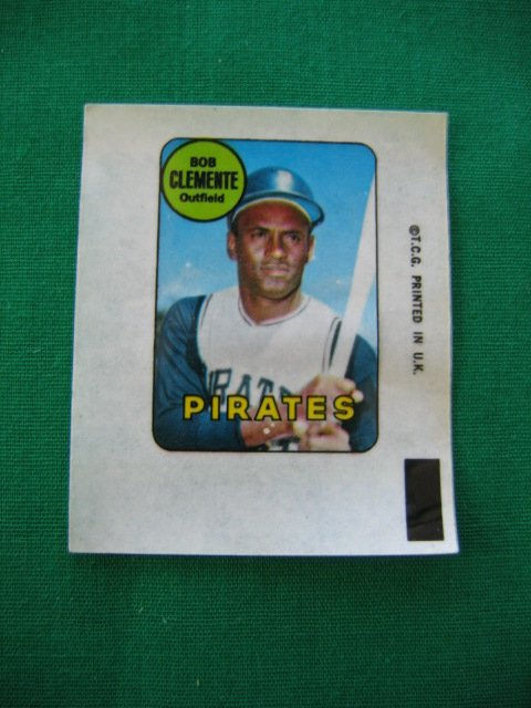 1014: Roberto Clemente Pittsburgh Pirates 1969 Topps De