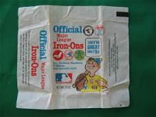 1225: Official Fleer Baseball Gum 5 Cents Wrapper c. 1
