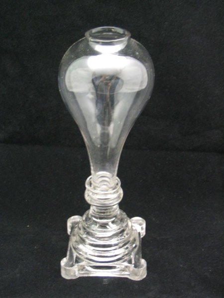 10: Clear Base Whale Oil Lamp