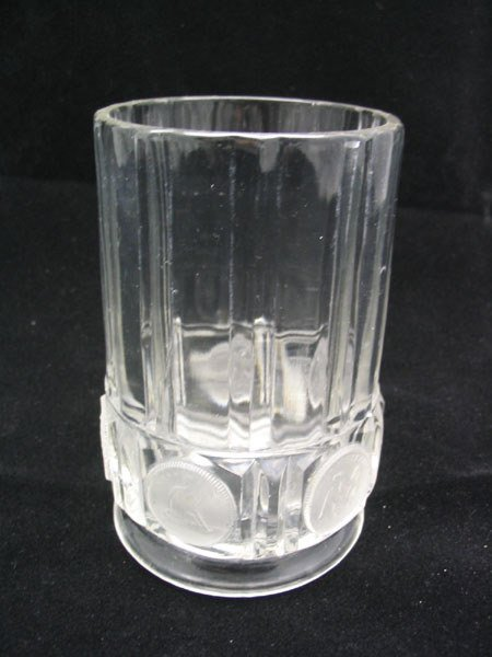 21: Coin Glass Spooner 1892