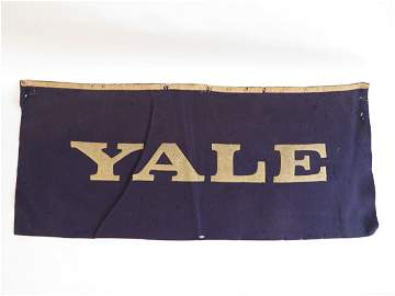 Yale Felt Rectangular Banner