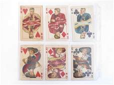 """(10) """"College Kings & Queens"""" F. Earl Christy Postcards"""