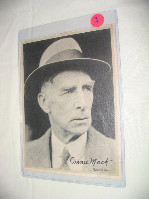 1001: Connie Mack 1933 Large Goudey: Scarce P