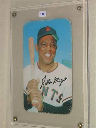 Willie Mays 1970 Topps Super Card