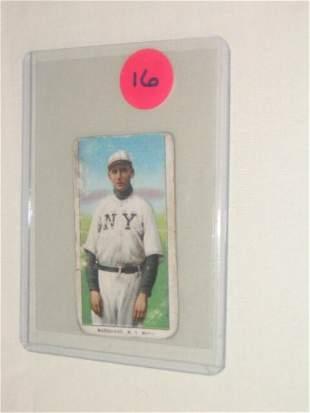 Rube Marquard 1909 T206 Tobacco Card: H
