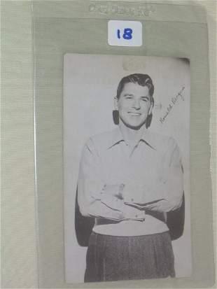 Ronald Reagan 1944 Warner Brothers: Rea