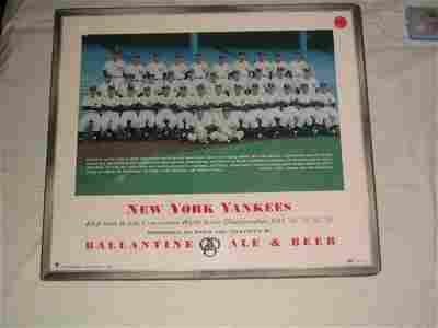 1426: New York Yankees 1954 Ballantine Beer S