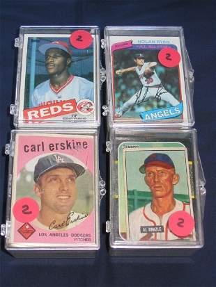 (4) Lots Mixture of Rookies, Stars, Vintage Cards et