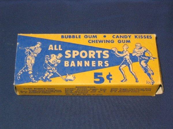 5: All Sports Banners Box w/Penn State Pennant