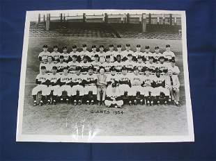 New York Giants 1954 Original Team Photo