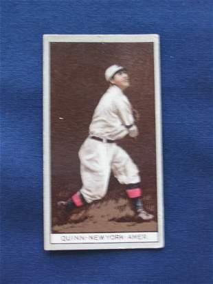 Jack Quinn 1912 T207 Tobacco Card