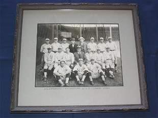 Williamsport Millionaires 1924 Framed Real Photo