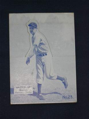 Lefty Gomez 1934 Yankees Batter Up Card