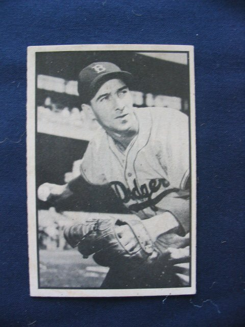 20: Billy Cox1953 Bowman Black and White Card