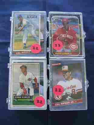 (4) Lots Mixture of Rookies, Stars, Vintage Cards e