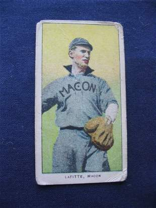 T206 Southern Leaguer, James Lafitte of Macon