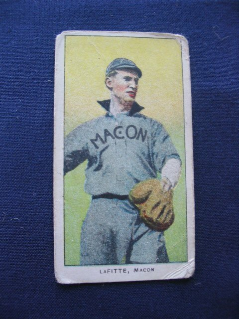 23: T206 Southern Leaguer, James Lafitte of Macon