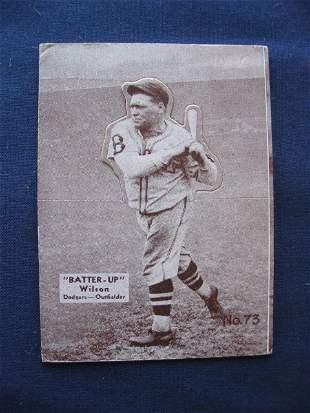 Hack Wilson 1934 Batter Up Card