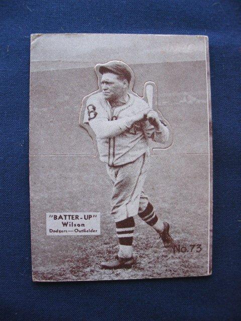 24: Hack Wilson 1934 Batter Up Card