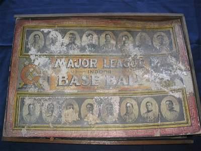 26: Major League Indoor Baseball Game Circa. 1910's
