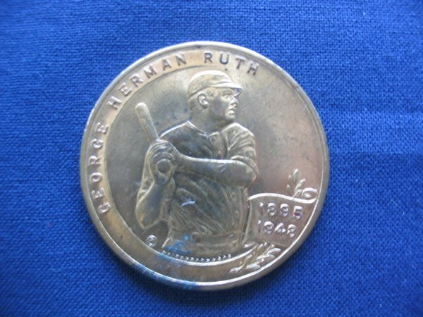264: Babe Ruth 1950's Ruth Foundation Coin
