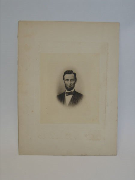 11: Abraham Lincoln - Steel Engraving